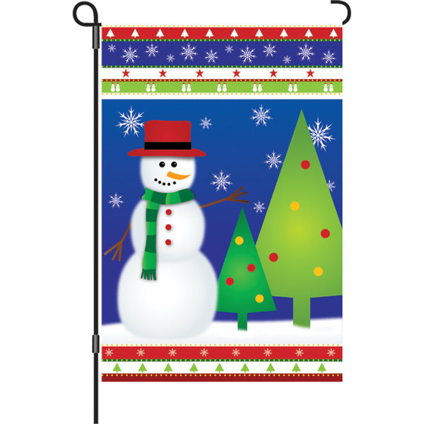 12 in. Flag - Winter Wonderland