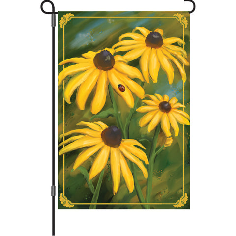 12 In Flag  - Black Eyed Susans