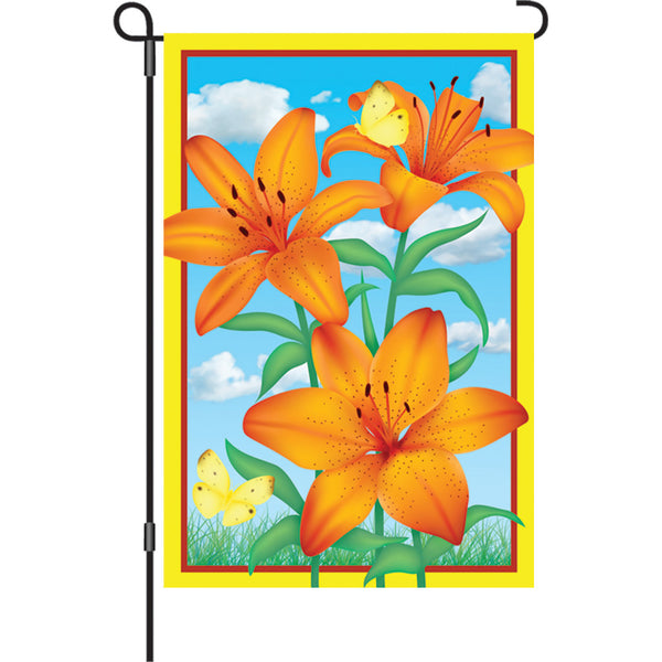 12 in. Flag - Tiger Lily