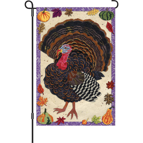 12 in. Flag - Textured Turkey