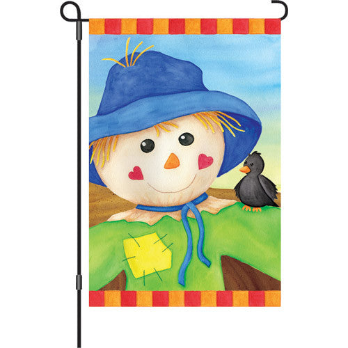 12 in. Flag - Hearty Scarecrow