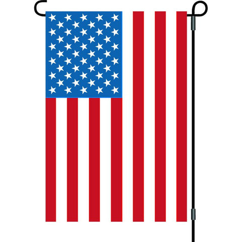12 in. United States Flag with Flagpole - USA
