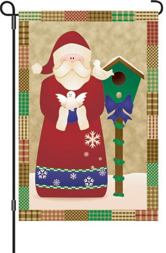 12 in. Flag - Santa's Doves