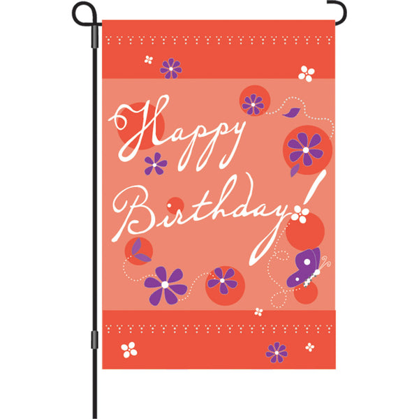 12 in. Flag - Birthday Blast