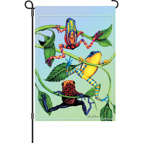 12 in. Flag - Hanging Tree Frog