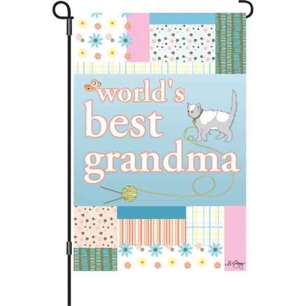 12 in. Flag - Best Grandma