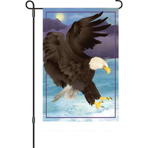 12 in. Flag - Majestic Eagle