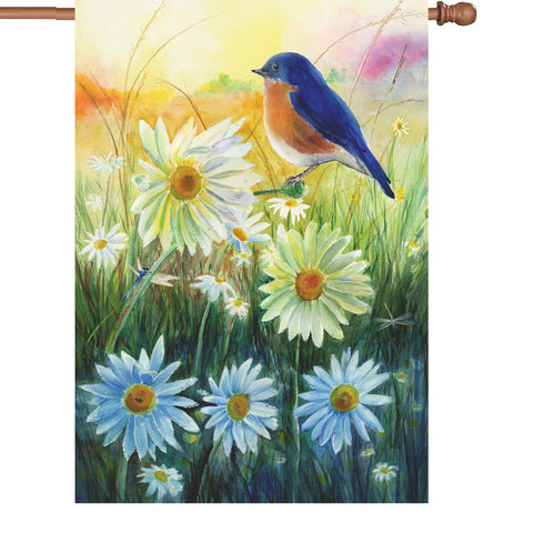 28 in. Flag - Bluebird Sunrise