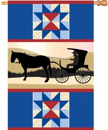 28 in. Flag - Amish Country
