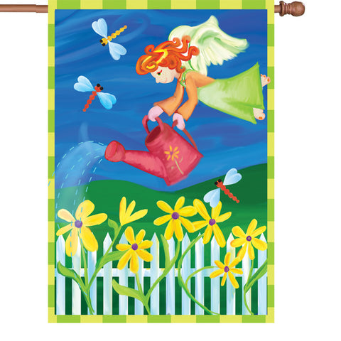 28 in. Flag - Garden Angel