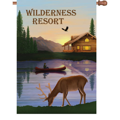 28 in. Flag - Wilderness Resort