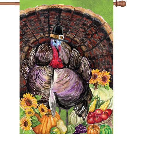 28 in. Flag - Turkey Pilgrim