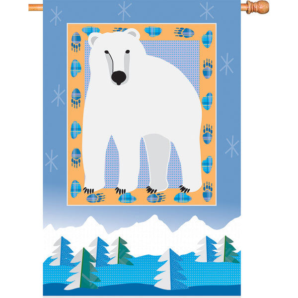 28 in. Flag - Polar Bear Mountain