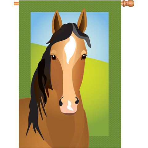28 in. Flag - Silly Filly