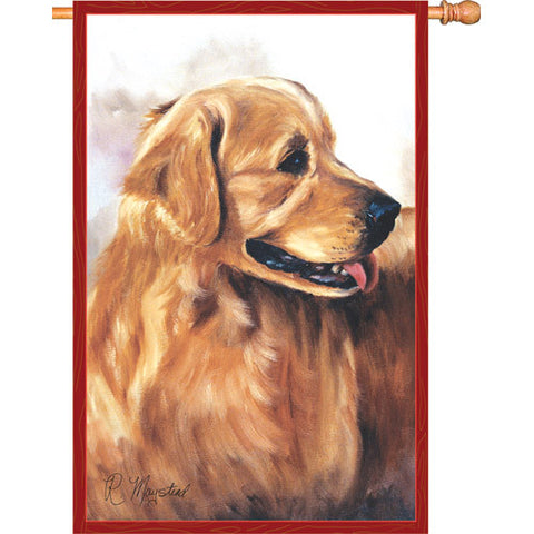 28 in. Flag - Golden Retriever