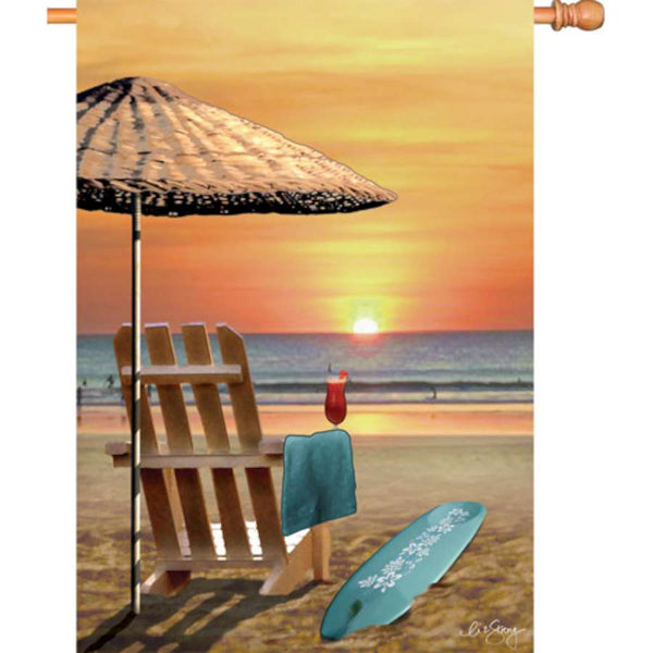 28 in. Flag - Bali Sunset