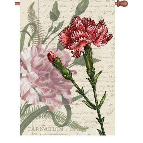 28 in. Flag - Carnation Celebration