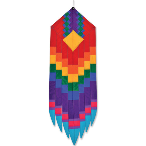 SoundWinds Goddess Earring Hanging Banner - Red