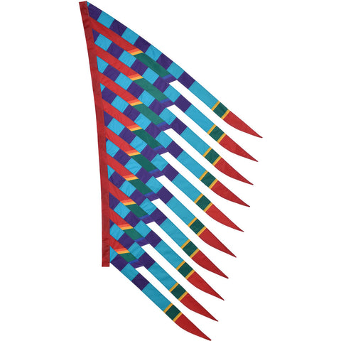SoundWinds David Ti Feathersail Banner - Purple/Blue