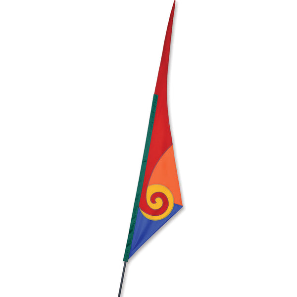 SoundWinds Spiral Recumbent Bike Flag - Primary