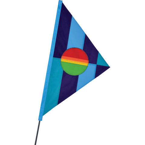 SoundWinds Phoebus Bike Flag - Cool Rainbow