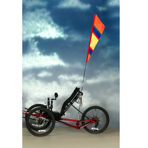 SoundWinds David Ti Fanion Bike Flag - Orange