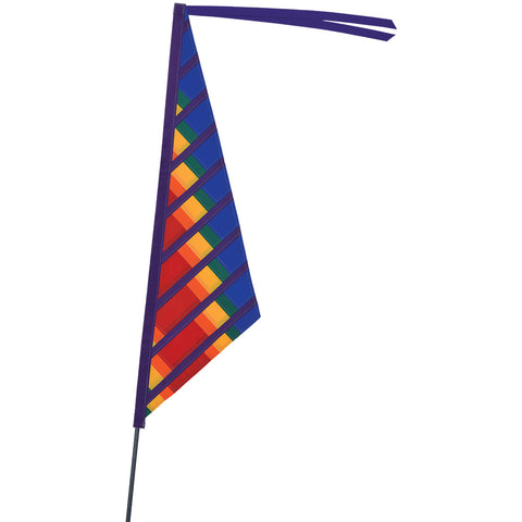 SoundWinds Sail Recumbent Bike Flag - Rainbow