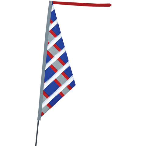 SoundWinds Reflective Sail Recumbent Bike Flag - Patriotic