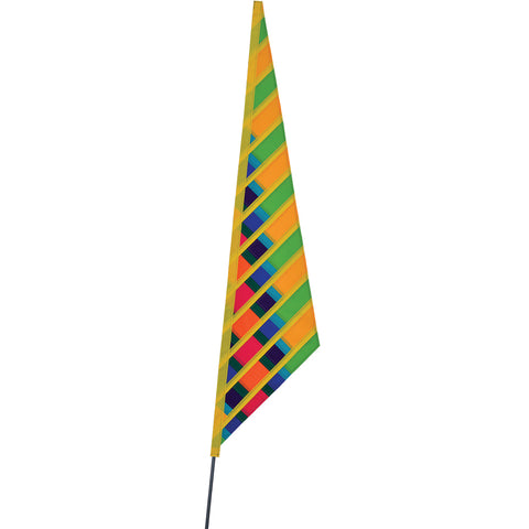 SoundWinds David Ti Garden Sail Bike Flag - Green