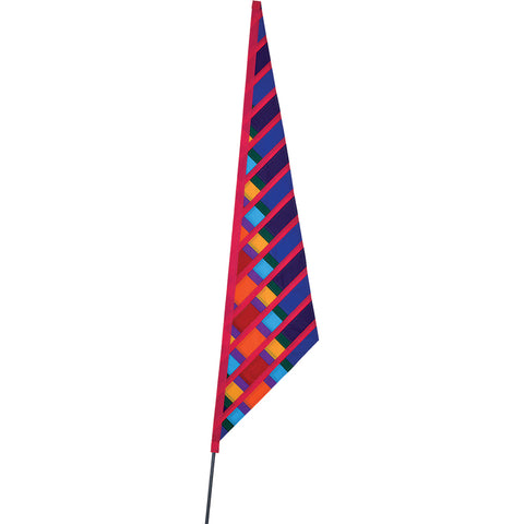 SoundWinds David Ti Garden Sail Bike Flag - Crimson