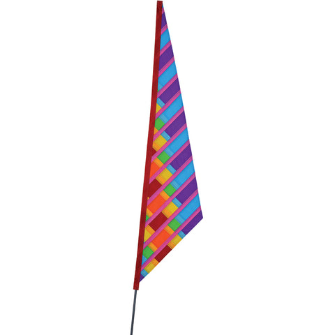 SoundWinds David Ti Garden Sail Bike Flag - Purple