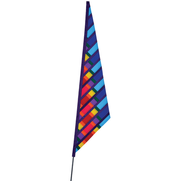 SoundWinds David Ti Garden Sail Bike Flag - Blue