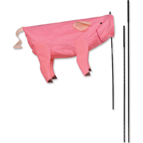 Windicator Recumbent Bike Flag - Pig
