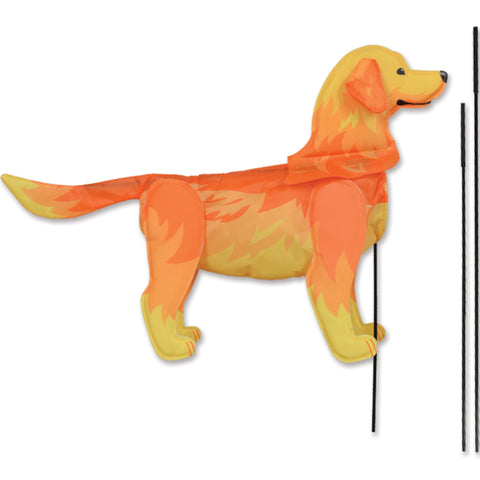 Windicator Recumbent Bike Flag - Golden Retriever
