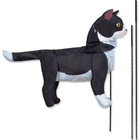 Windicator Recumbent Bike Flag - Tuxedo Cat