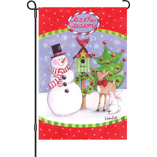 12 in. Flag - Festive Friends