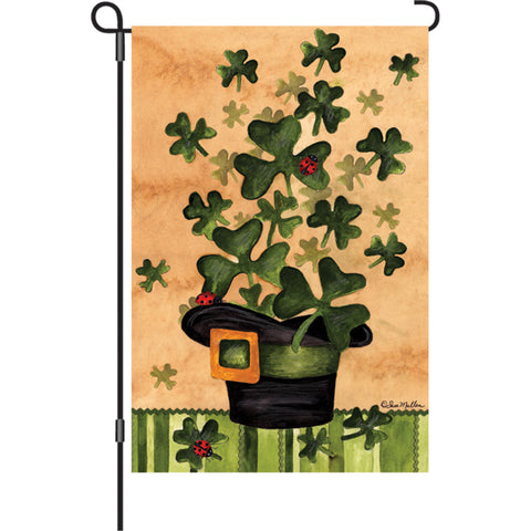 12 in. Flag - Shamrock Burst