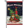 12 in. Flag - Doggone Happy Holiday
