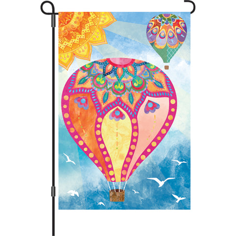 12 in. Flag - Hot Air Balloons
