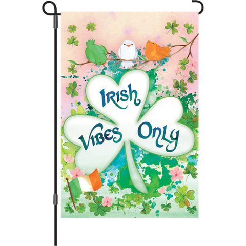 12 in. Flag - Irish Vibes Only