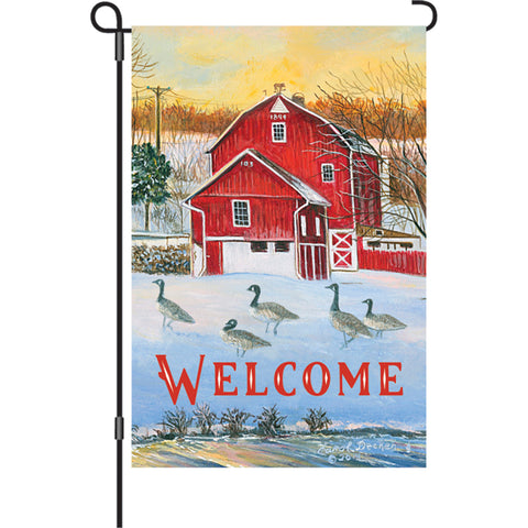 12 in. Flag - Country Barn