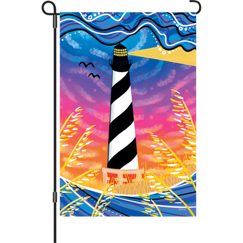 12 in. Flag - Hatteras Sunset