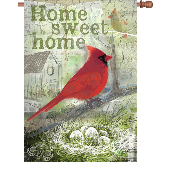28 in. Flag - Home Sweet Home
