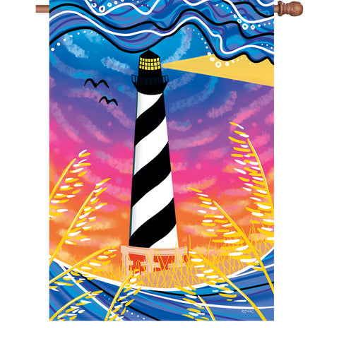 28 in. Flag - Hatteras Sunset