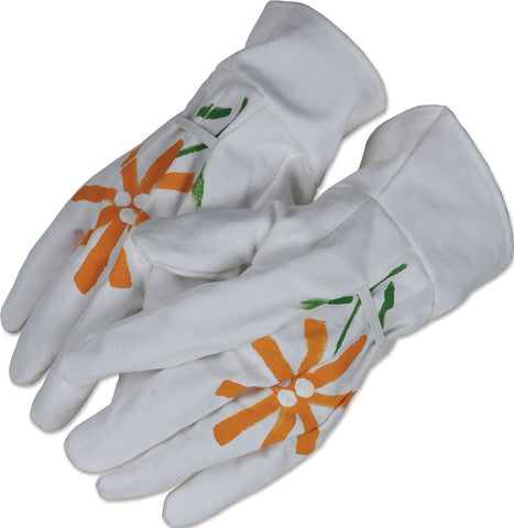 Tote Bag & Gloves - Daisies
