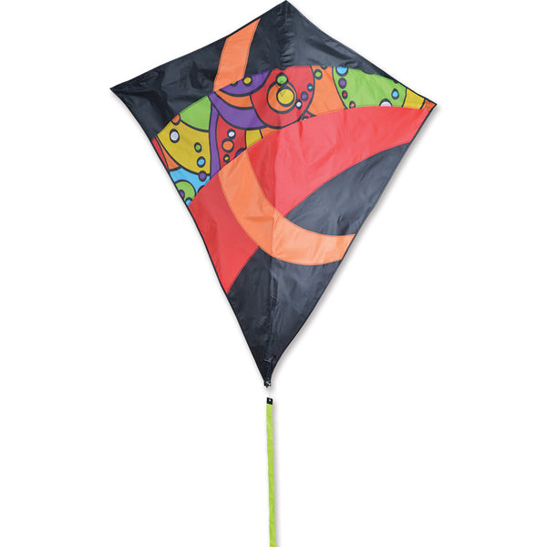 52 in. Travel Diamond Kite - Orbit Tron