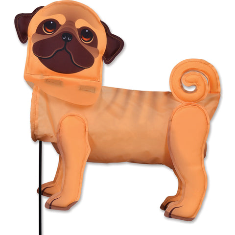 Windicator Weather Vane - Pug