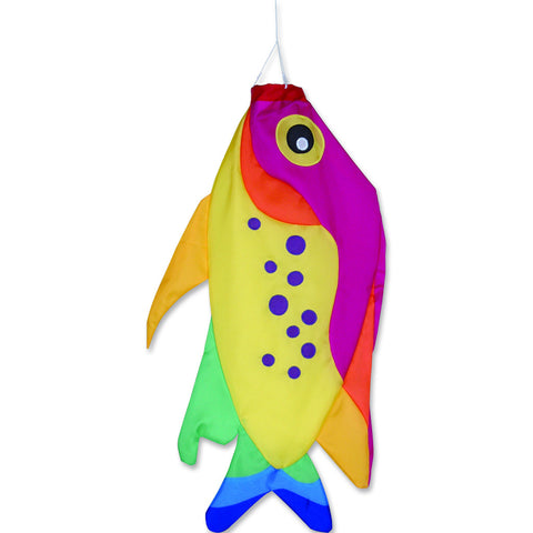 36 in. Rainbow Damsel Fish Windsock