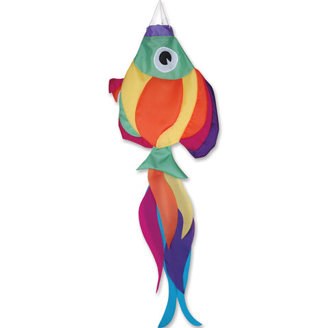 36 in. Rainbow Fish Windsock