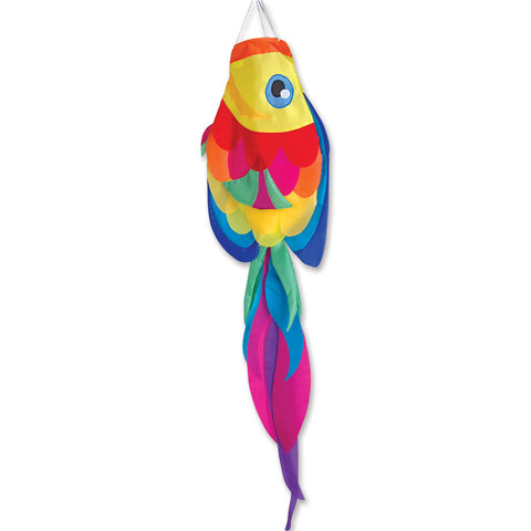52 in. Rainbow Tang Fish Windsock